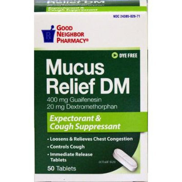GNP Mucus Relief DM (50 tablets)