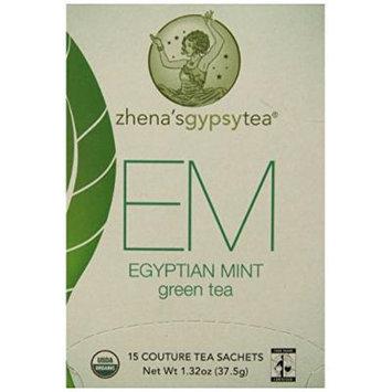 Zhena's Gypsy Tea Egyptian Mint Overwrap, 15 Count