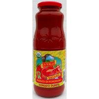 La Valle (12 pack) Tomato Puree Organic San Marzano 24oz jars from Italy