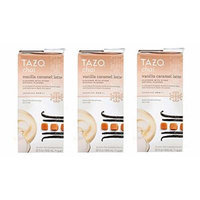 Tazo Chai Vanilla Caramel Latte Black Tea - 32 Fl Oz Multi-pack of 3