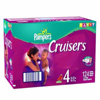 Pampers Cruisers, Size 4, 124-Count