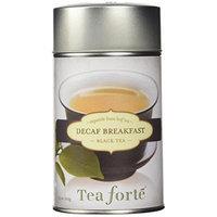 Tea Forte DECAF BREAKFAST Loose Leaf Black Tea, 3.5 Ounce Tea Tin