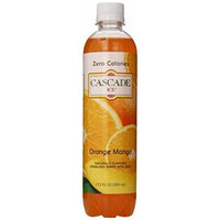 Cascade Ice Sparkling Water, Orange Mango, 17.2 Ounce (Pack of 12)