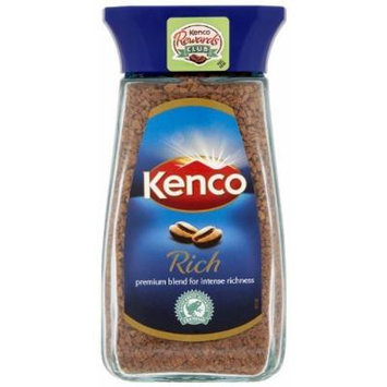 2 Jars Kenco Rich Instant Coffee Jar 3.5oz/100g