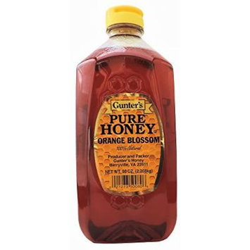 Gunter's Pure Orange Blossom Honey, 5Lb
