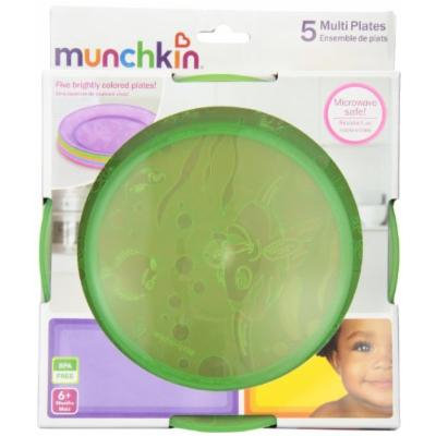 Munchkin 5 Multi Plate, Colors May Vary (10 Plates (Pack of 2))