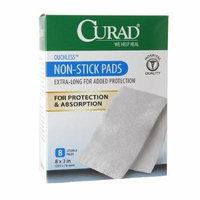 Curad Non-Stick Pads, 8 x 3 in 8 ea
