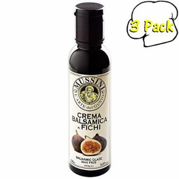 Italian Natural Flavored Fig Balsamic Glaze, 5.1 Ounces, 3 Per Case