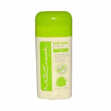 New - Mill Creek Deodorant Stick Aloe Fresh - 2.5 oz