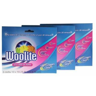 Woolite Dry Clean At Home (6 Cloths Total) 3 Packs