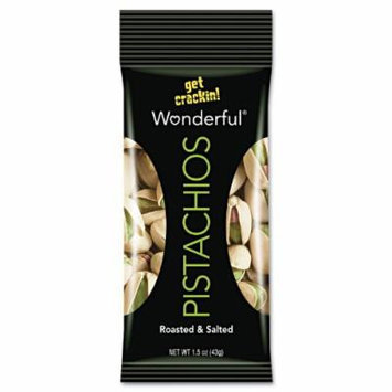 Wonderful Pistachios (1.5 oz., 12 pks. 18 total Oz.)