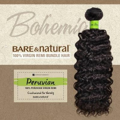 Sensationnel Unprocessed Peruvian Virgin Remy Human Hair Weave Bare & Natural Bohemian [10