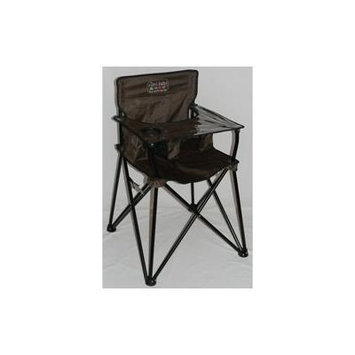 Portable Travel High Chair - Color: Chocolate