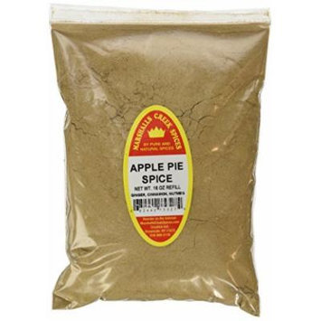 Marshalls Creek Spices X-Large Refill Apple Pie Spice, 16 Ounce