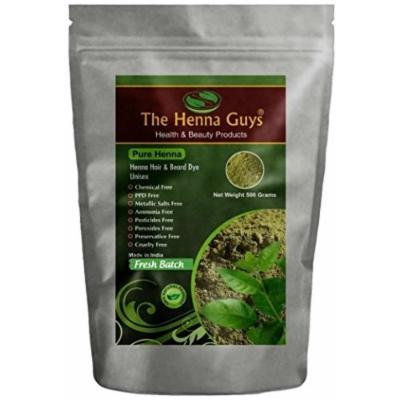 100% Pure & Natural Henna Powder For Hair Dye / Color 500 Grams - The Henna Guys