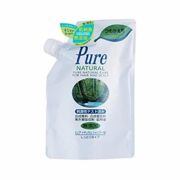 Pure NATURAL (Pure Natural) Shampoo M (moist type) Refill 400ml