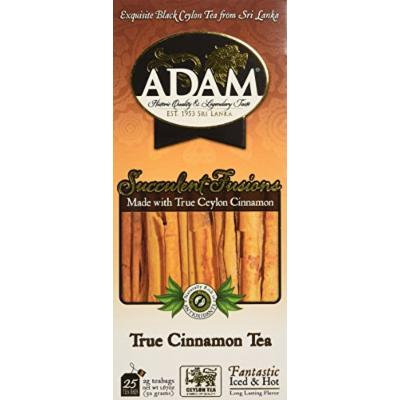 Adam Tea, True Cinnamon, 100 Count
