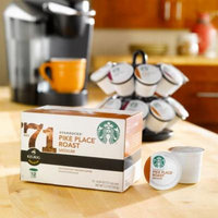 Starbucks Pike Place Torrefaction Roast, K-Cup for Keurig Brewers, 108 Count ,Starbucks-wfs5