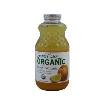 Santa Cruz: Organic Peach Lemonade ( 32 Fl Oz) (Pack of 6) - Pack Of 6