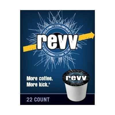 Green Mountain Revv Coffee (3 Boxes of 22 K-cups)