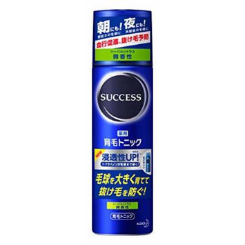 Kao SUCCESS Medicated hair growth tonic Faint Smell (180g)