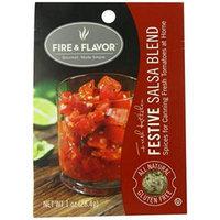 Fire & Flavor Canning Seasoning, Fiesta Salsa Blend, 1 Ounce