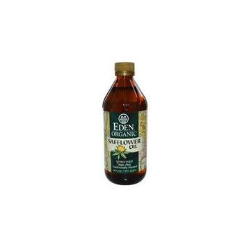 Eden Foods, Organic Safflower Oil, Unrefined, 16 fl oz (473 ml) (3 packs)