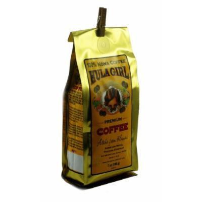 Hula Girl 100% Kona Coffee Ground 7 oz (196 g)