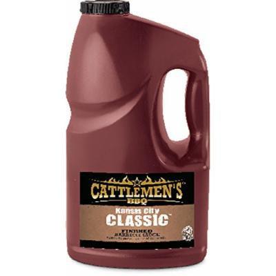 Cattlemen's BBQ Sauce Kansas City Classic (4 1-Gallon)