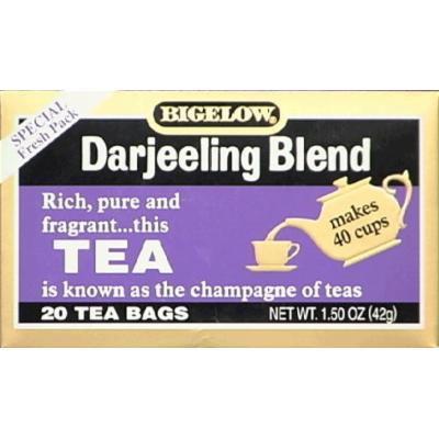 Bigelow Darjeeling Blend Tea 20.0 CT (Pack of 2)