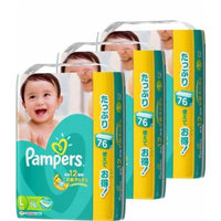 Pampers japan , pampers Cotton care L-size 【 9~14kg 】 228sheets Box Sale 【 76sheets x 3pack 】