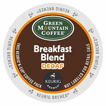 Keurig, Green Mountain Coffee, Breakfast Blend Decaf, K-cup Packs, 50 Count