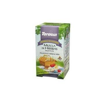 Taragui Digestive Herbal Mix / Mexcla De Hierbas Digestivas X 25 Bags 1.5gr Each