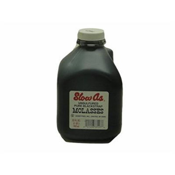 Slow As Molasses Unsulfured Pure Blackstrap (2-32oz Bottles)