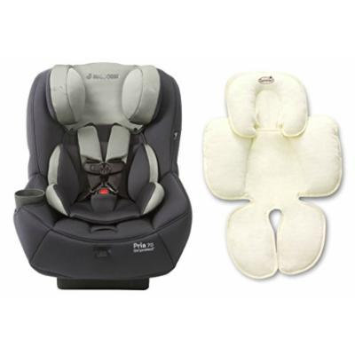 Maxi-Cosi Pria 70 Convertible Car Seat with Easy Clean Fabric Plus Snuzzler Head and Body Support, Mineral Grey