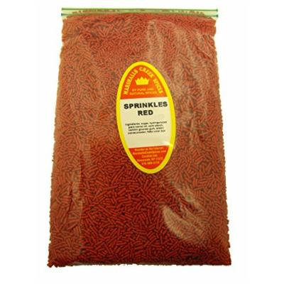 Marshalls Creek Spices Family Size Refill Sprinkles Red, 48 Ounce