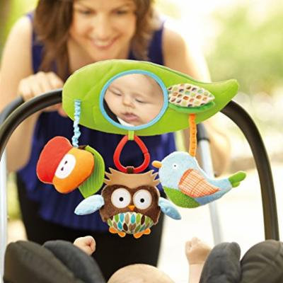 Owl Birdie Baby Activity Toy Stroller/crib/pram Cute Rattle Doll Newborn Gift
