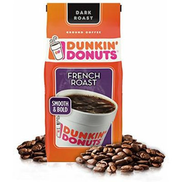 Dunkin Donuts French Roast Ground Coffee (11oz Bag)