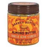 Barney Butter - All Natural Almond Butter Vanilla Bean + Espresso - 10 oz.