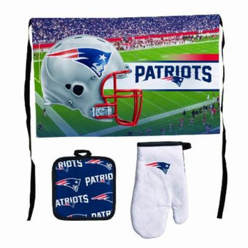 NFL New England Patriots Premium Barbeque Tailgate Set