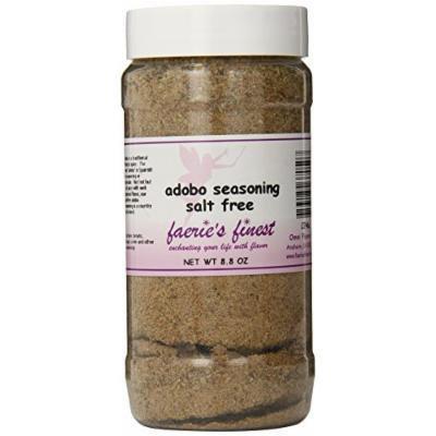Faeries Finest Adobo Seasoning, Salt Free, 8.80 Ounce