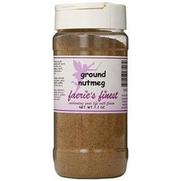 Faeries Finest Ground Nutmeg, 7.20 Ounce