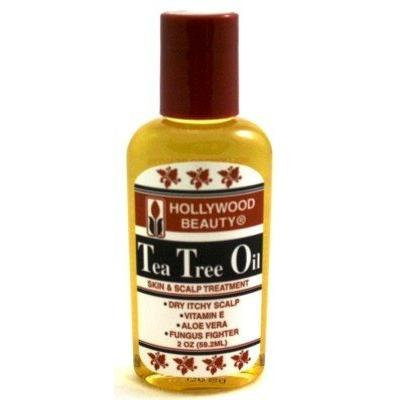 Hollywood Beauty Tea Tree Oil 2 oz. (3-Pack) with Free Nail File