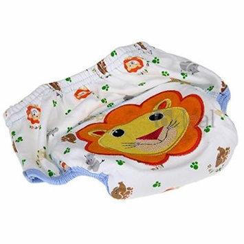 Cotton Reuseable Baby Infant Diaper Pants Waterproof Cover Training Lion Print