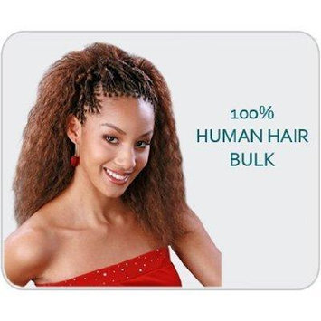Encore French / Spanish Bulk Human Hair Blend Brading Hair 18