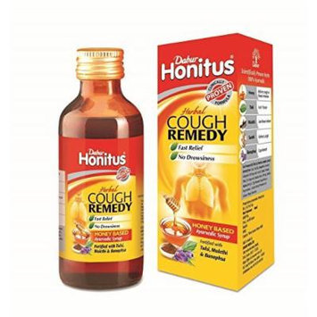Dabur Honitus Herbal Syrup (used for cough) 100mL