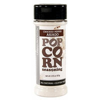 Urban Accents All Natural Gluten Free Premium Cracked Pepper Asiago Popcorn Seasoning (Pack of 3), 2.25 Oz. Ea.