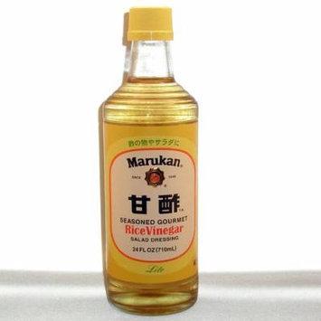 Marukan Seasoned Gourmet Rice Vinegar Salad Dressing, 24 Ounce