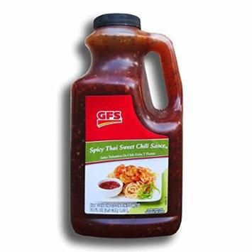Spicy Thai Sweet Chili Sauce by GFS - 64 Oz. Jug