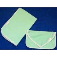 NuAngel Clutch and Go Changing Pad Set (Green Gingham)